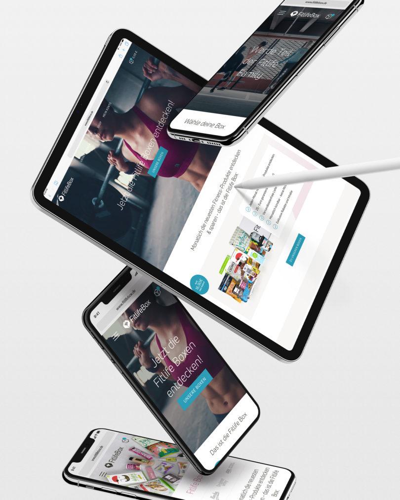 Fitlife Box Screendesign